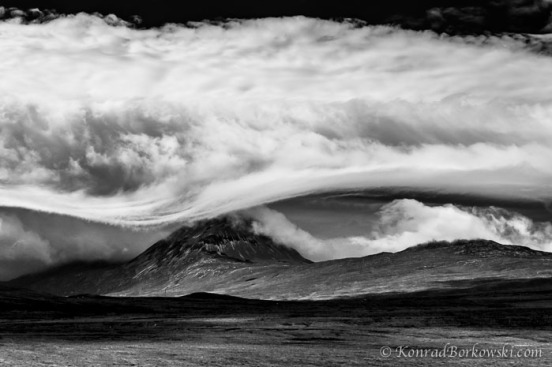Clearing Storm over the Paps of Jura, Isle of Jura