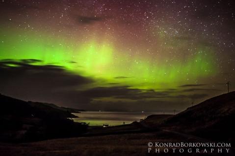 Aurora on Isle of Jura