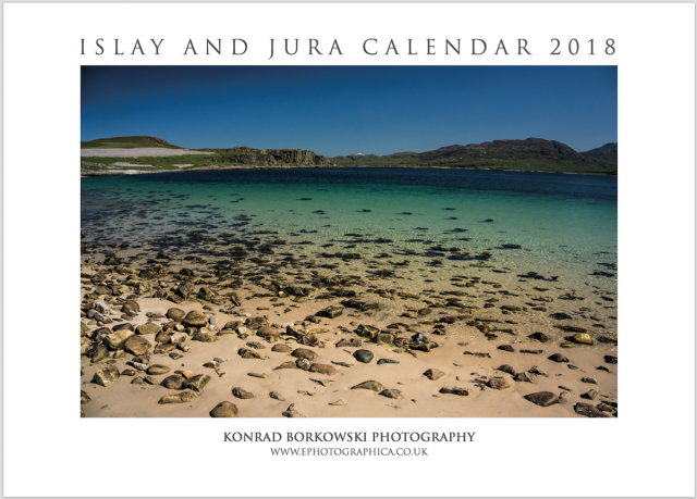 Islay and Jura Calendar 2018 Cover
